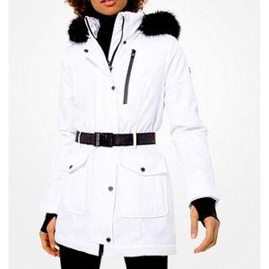 Michal Kors   Puffer jacket (faux fur)